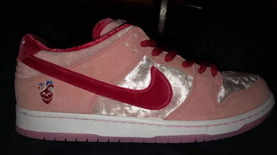 StrangeLove x Nike SB Dunk Low for Valentine's Day | Getswooshed