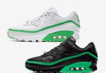 Undefeated Nike Air Max 90 Green Spark Release Date