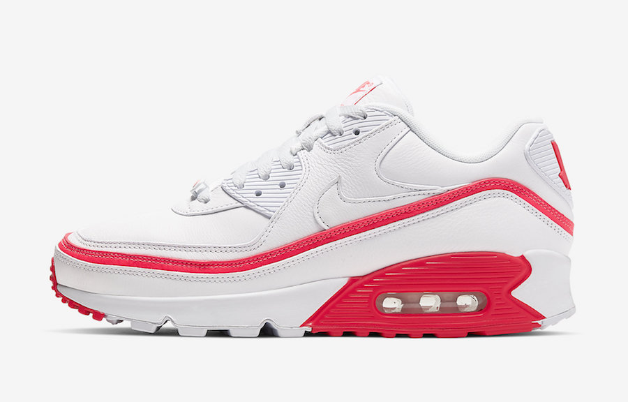 Undefeated Nike Air Max 90 Solar red CJ7197-103 Release Date