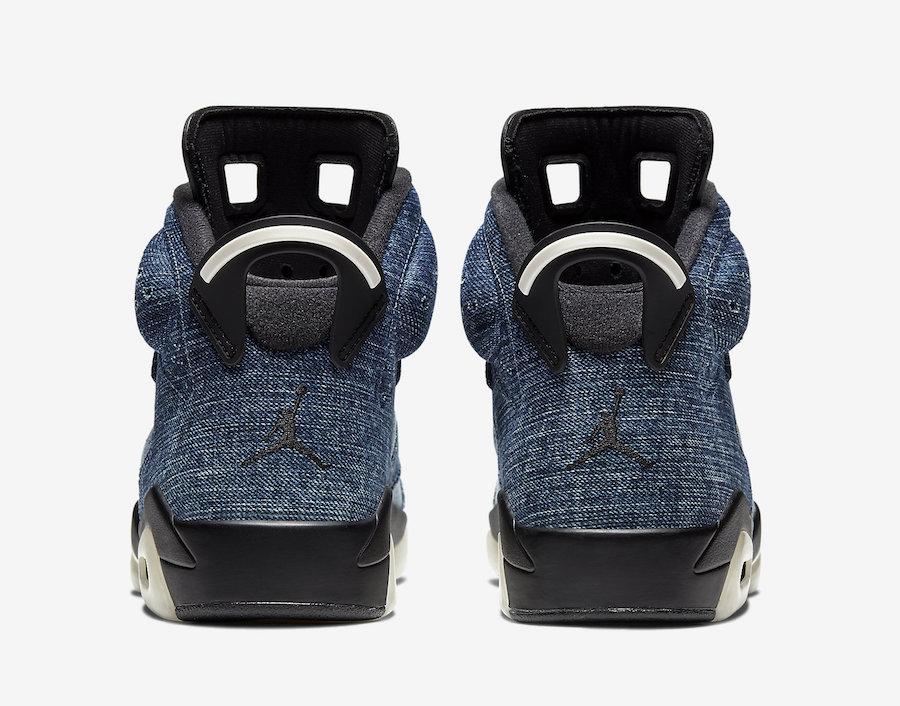 Washed Denim Air Jordan 6 CT5350-401 Release