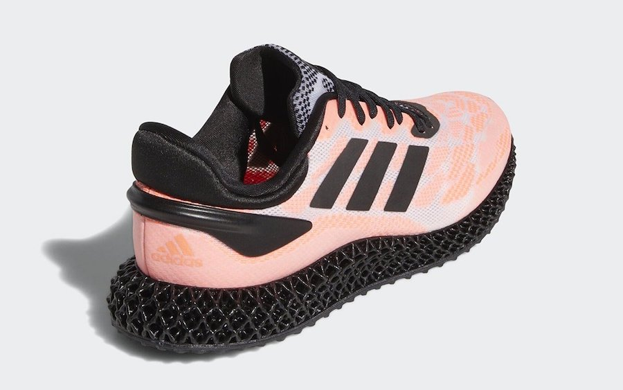 adidas 4D Run Black Coral FW6839 Release Date Info