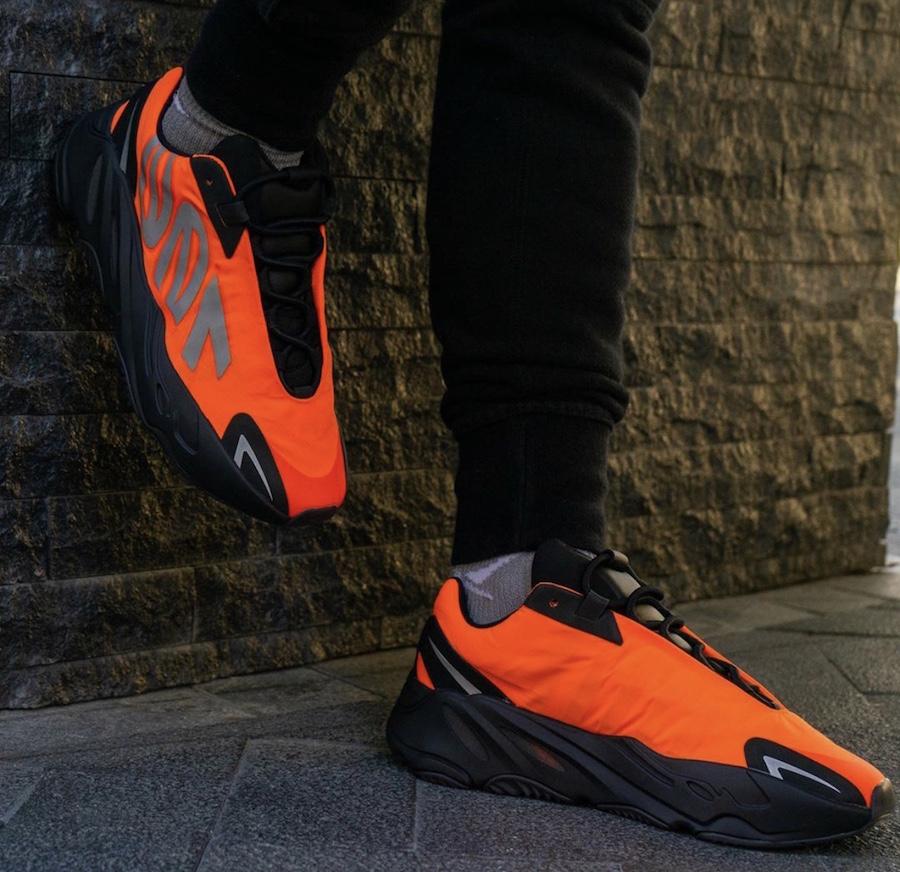 adidas 700 MNVN Orange FV3258 Release Date Info | SneakerFiles