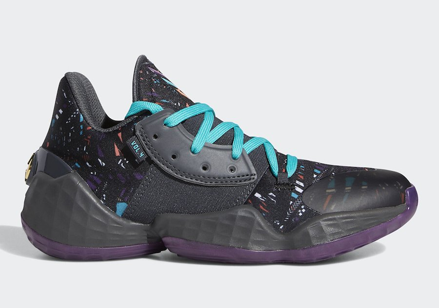 adidas Harden Vol. 4 Black History Month EF9943 Release Date Info