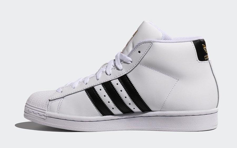 adidas Pro Model OG White Black Gold FV5722 Release Date Info