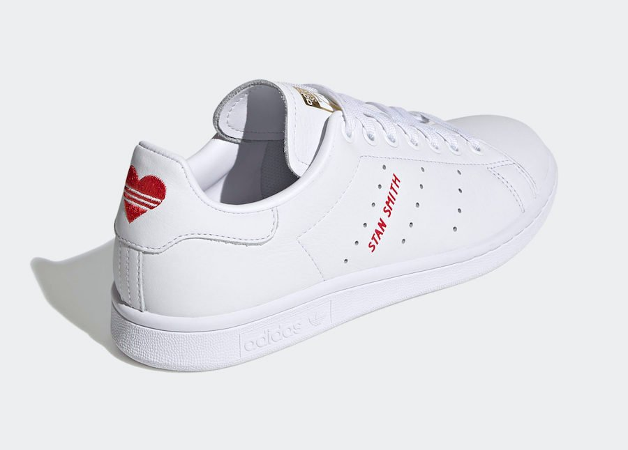 adidas Stan Smith Valentines Day FV8260 Release Date Info