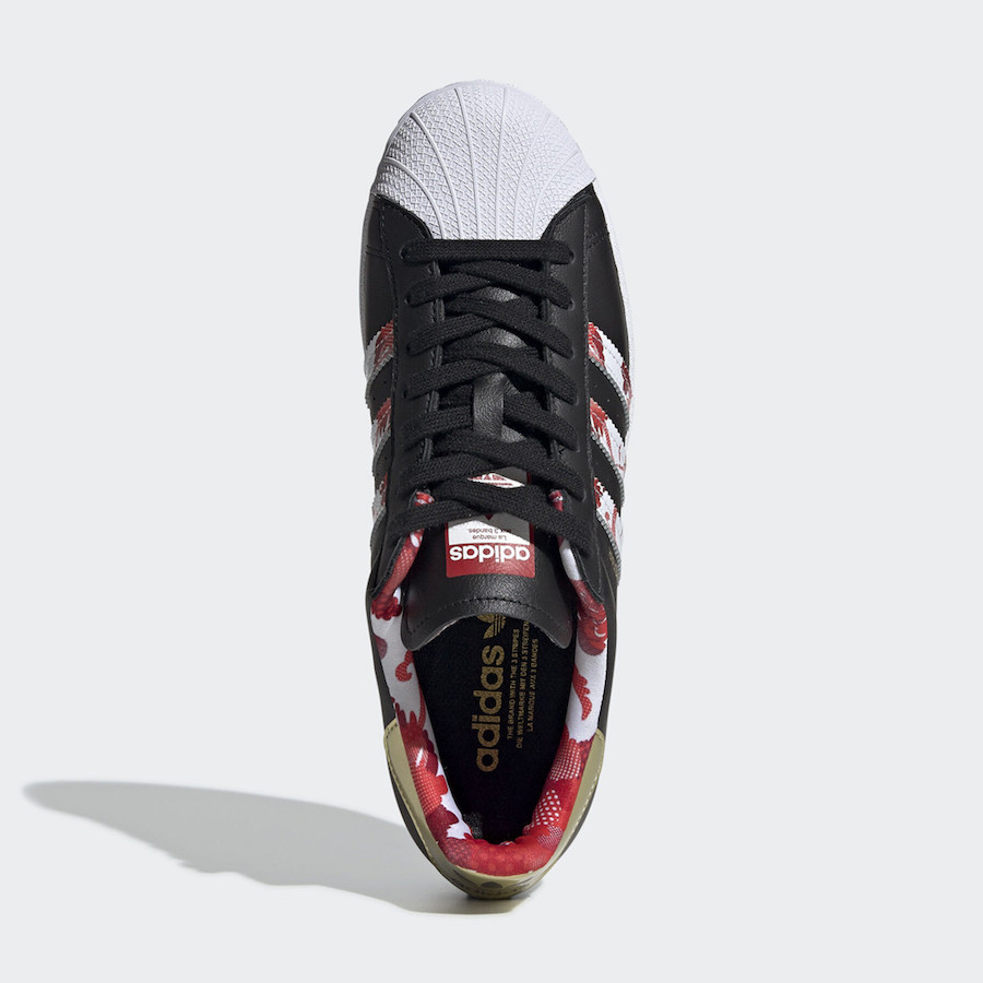 adidas Superstar Chinese New Year FW5271 Release Date Info