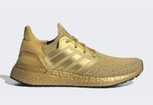 adidas Ultra Boost 2020 Metallic Gold EG1343 Release Date Info