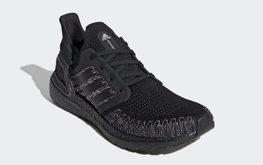 adidas Ultra Boost 2020 Multi-Color Black EG0711 Release Date Info