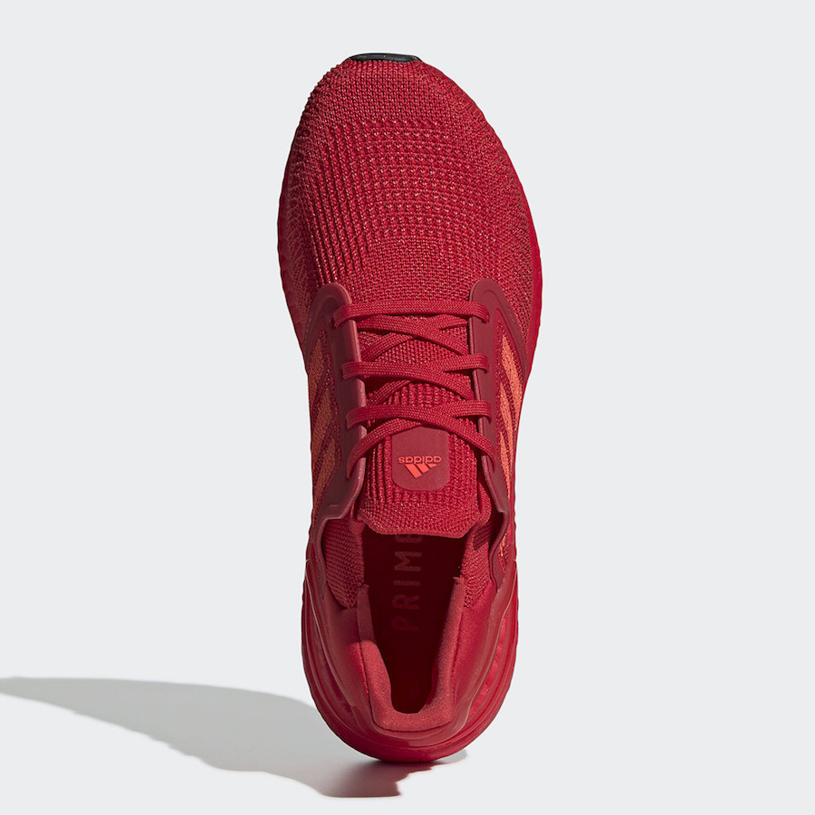 adidas Ultra Boost 2020 Triple Red EG0700 Release Date Info