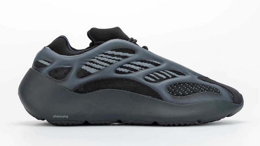adidas Yeezy 700 V3 Alvah Black H67799 Release Date