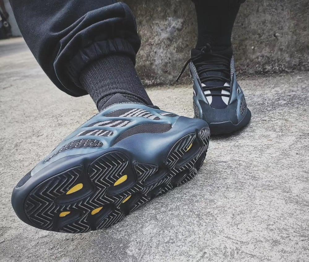 adidas Yeezy 700 V3 Black On Feet
