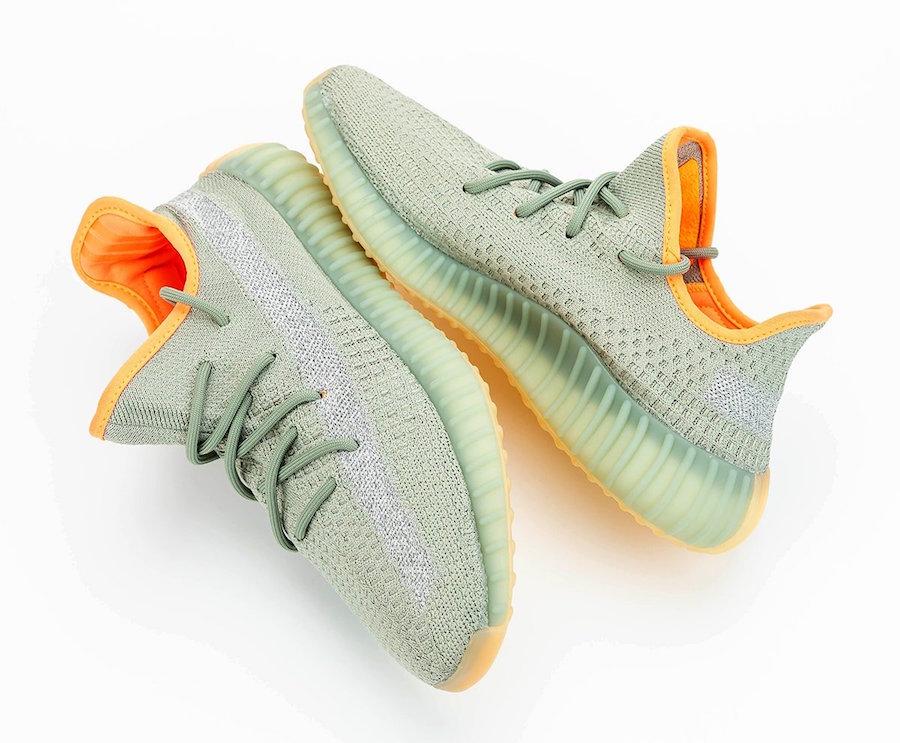 adidas Yeezy Boost 350 V2 Desert Sage FX9035 Release Details