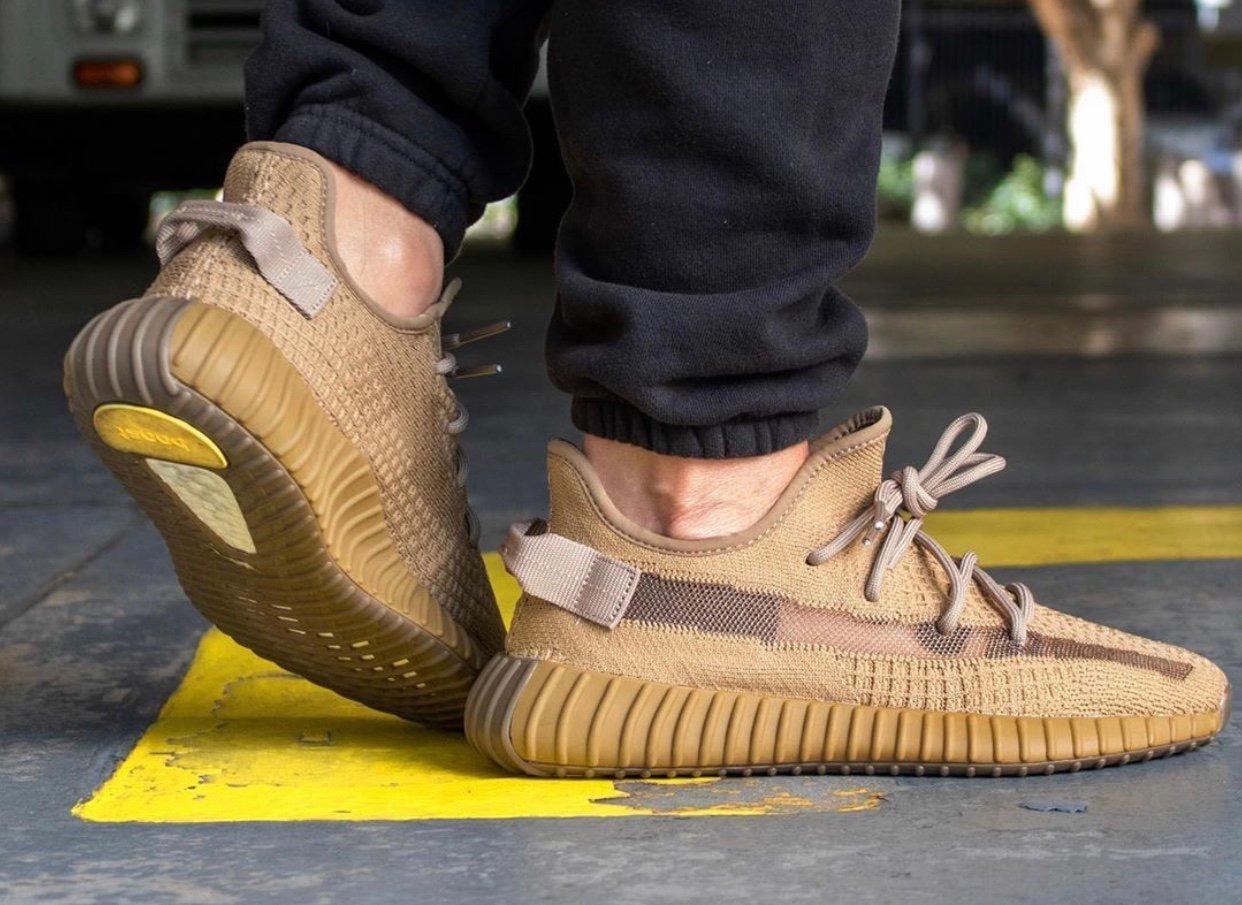 adidas Yeezy Boost 350 V2 Earth FX9033 On Feet