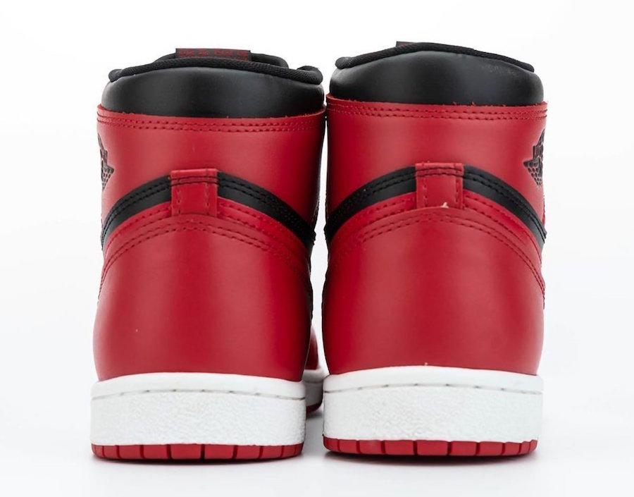 Air Jordan 1 Hi 85 Varsity Red Reverse Bred BQ4422-600 Release Date