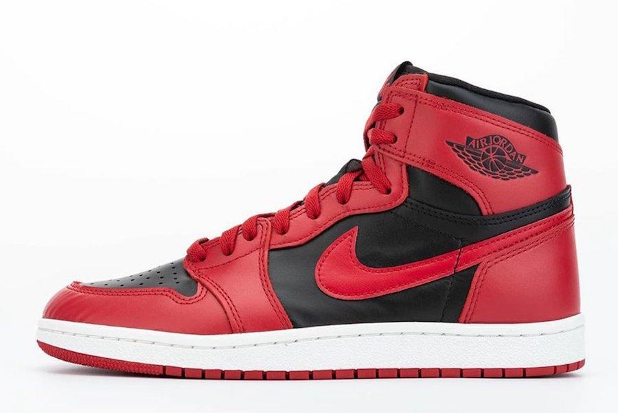 Air Jordan 1 Hi 85 Varsity Red Reverse Bred Release Date