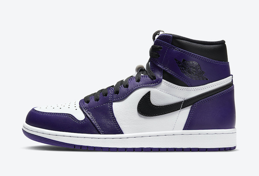 Air Jordan 1 High OG Court Purple 555088-500 Release Info