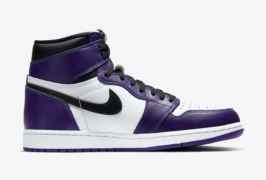 Air Jordan 1 Court Purple 2020 555088-500 Release Info ...