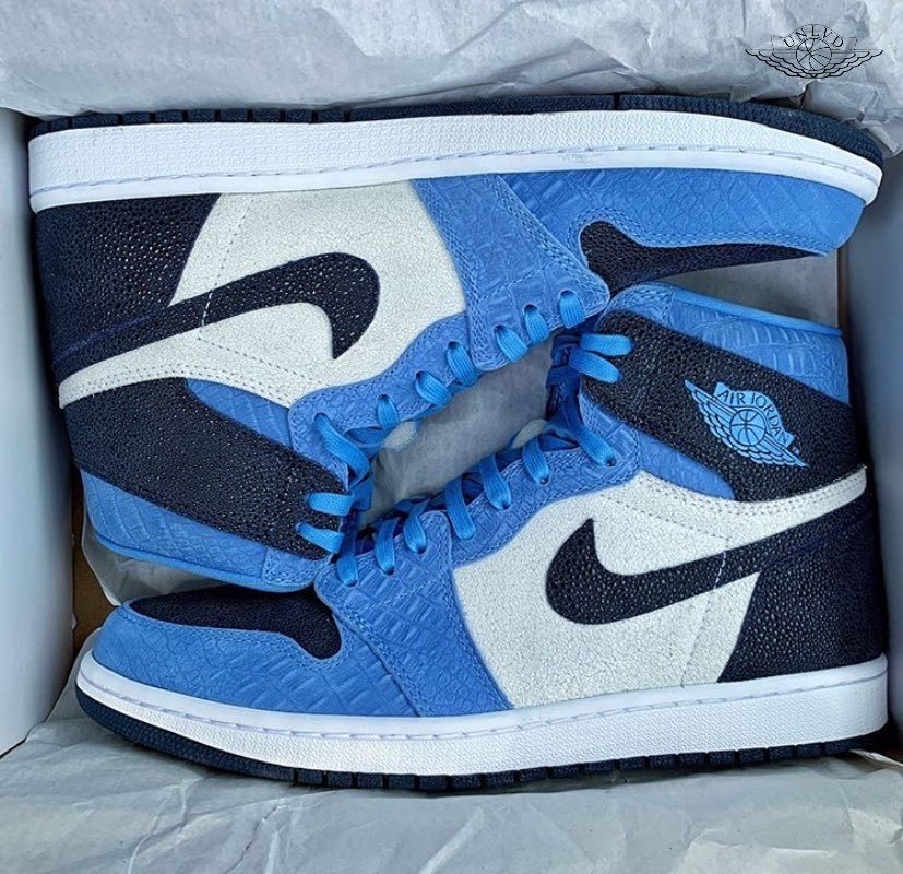 Air Jordan 1 High UNC Exotic PE 2020