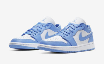 Air Jordan 1 Low UNC University Blue White AO9944-441 Release Date