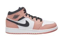 Air Jordan 1 Mid GS Pink Quartz 555112-602 Release Date Info