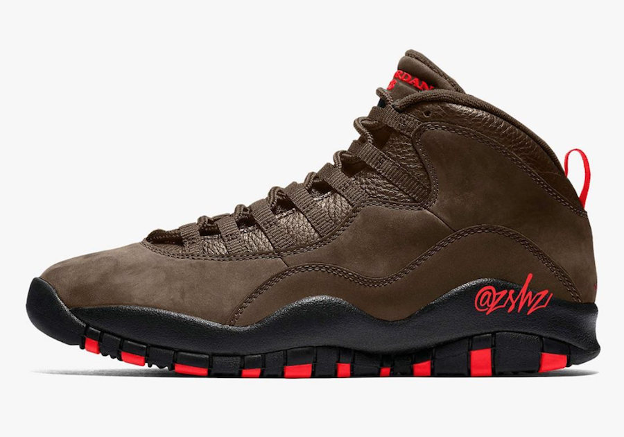 Air Jordan 10 Dark Mocha CT8011-200 Release Date Info