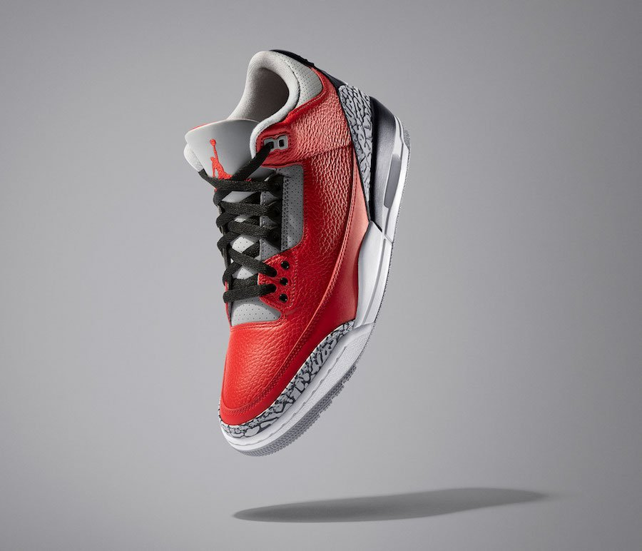 Air Jordan 3 Chicago Red Cement