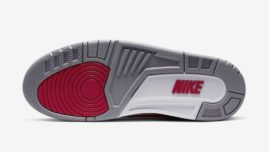 Air Jordan 3 Fire Red Cement CK5692-600 Release