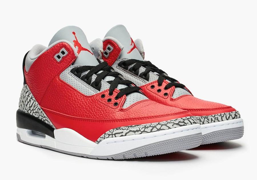 Air Jordan 3 Fire Red Cement CK5692-600 Release Date