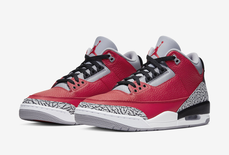 Air Jordan 3 Fire Red Cement CK5692-600 Release