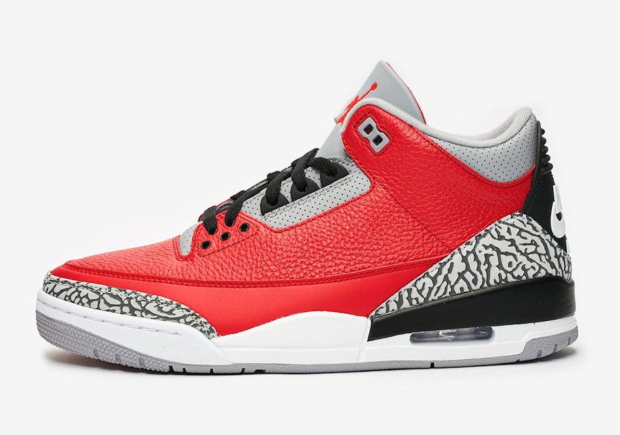 Air Jordan 3 Fire Red Cement Release Date