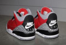 Air Jordan 3 Red Cement Nike Chi Release Date