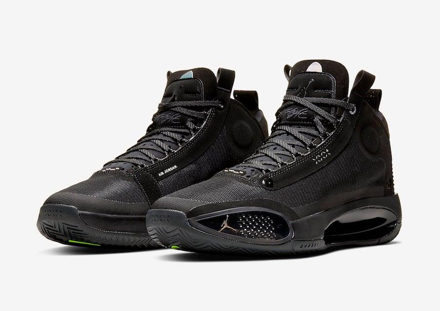 Air Jordan 34 Black Cat AR3240-003 Release