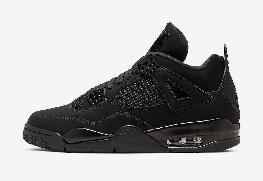 Air Jordan 4 Black Cat CU1110-010 2020