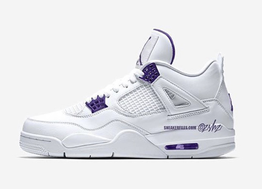 Air Jordan 4 Court Purple CT8527-115