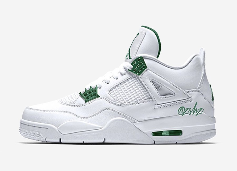 Air Jordan 4 Pine Green CT8527-113