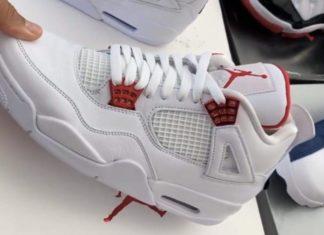 Air Jordan 4 Red Metallic CT8527-112 Release Date