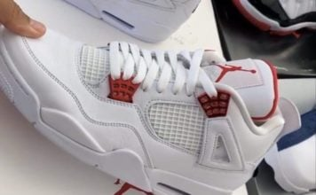 Air Jordan 4 Red Metallic CT8527-112 Release Date