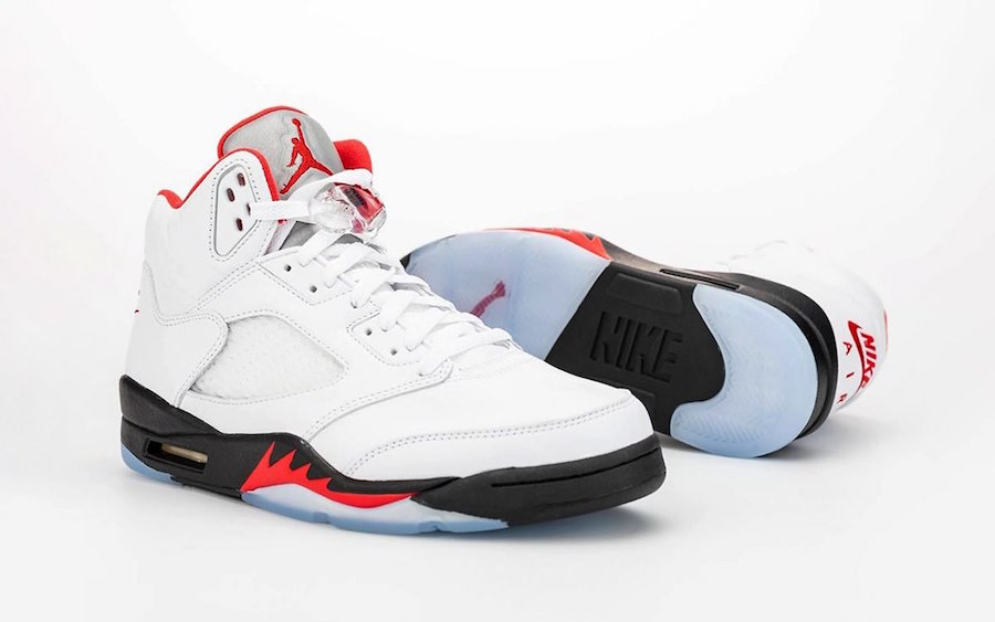 Air Jordan 5 Fire Red 2020 Retro Release