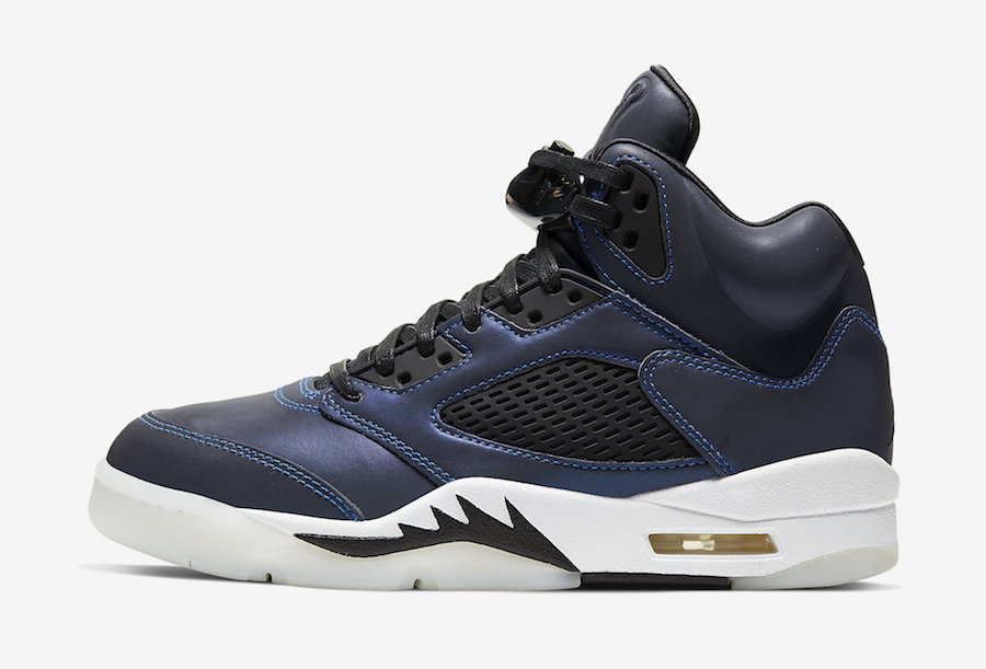 Air Jordan 5 WMNS Oil Grey CD2722-001 Release Date Info