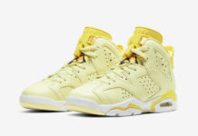 Air Jordan 6 GS Floral Crimson Tint Dynamic Yellow 543390-800