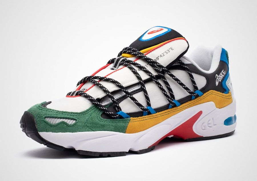 Asics Gel Kayano 5 Multi-Color 1021A282-100 Release Date Info
