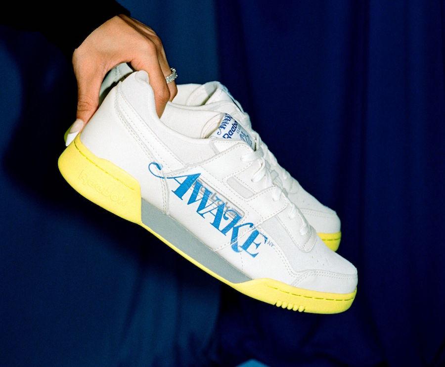 Awake NY Reebok Workout Low White Release Date