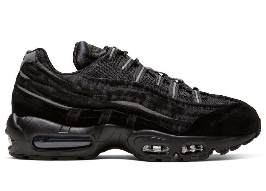 Comme des Garçons x Nike Air Max 95 Collection Releases This