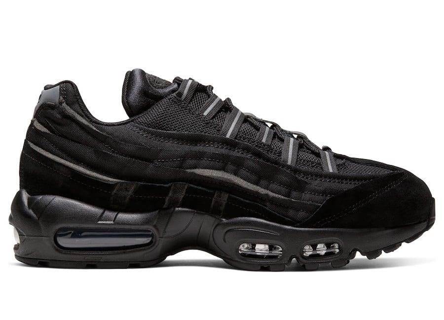 CDG Nike Air Max 95 Black CU8406-001