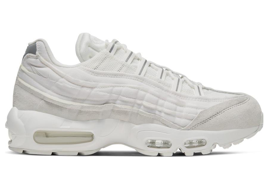 CDG Nike Air Max 95 White CU8406-100