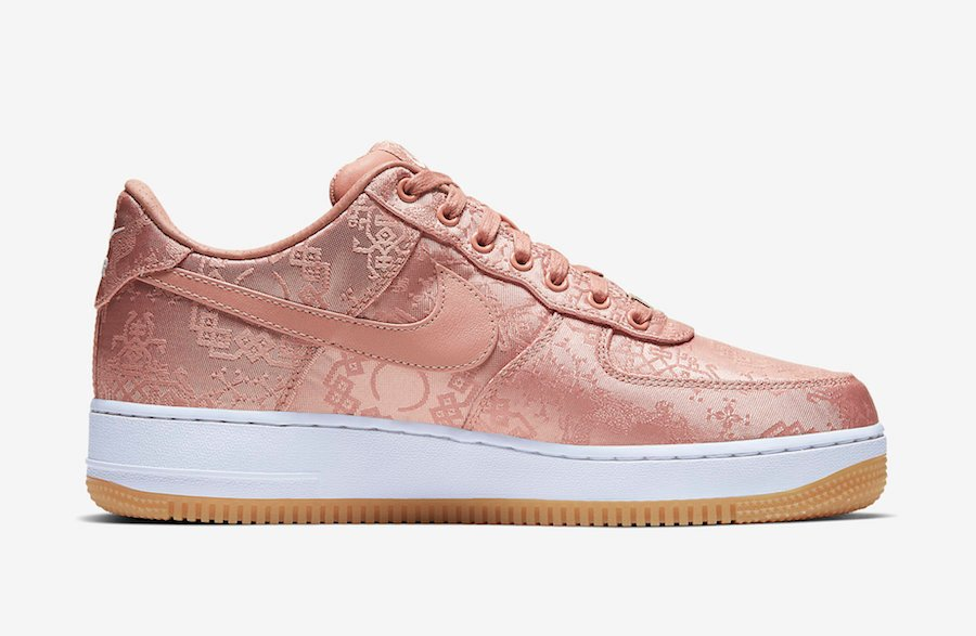 Clot x Nike Air Force 1 Low 'Rose Gold' Official Images