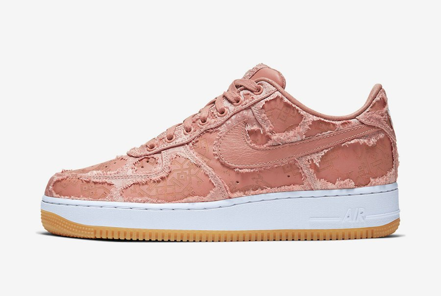 Clot Nike Air Force 1 Low Game Royal CJ5290-400 Rose Gold ...