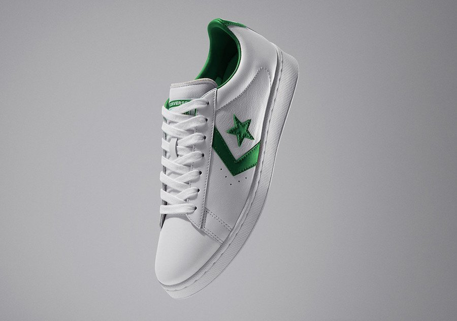 Converse Pro Leather Low White Green All-Star Release Date Info