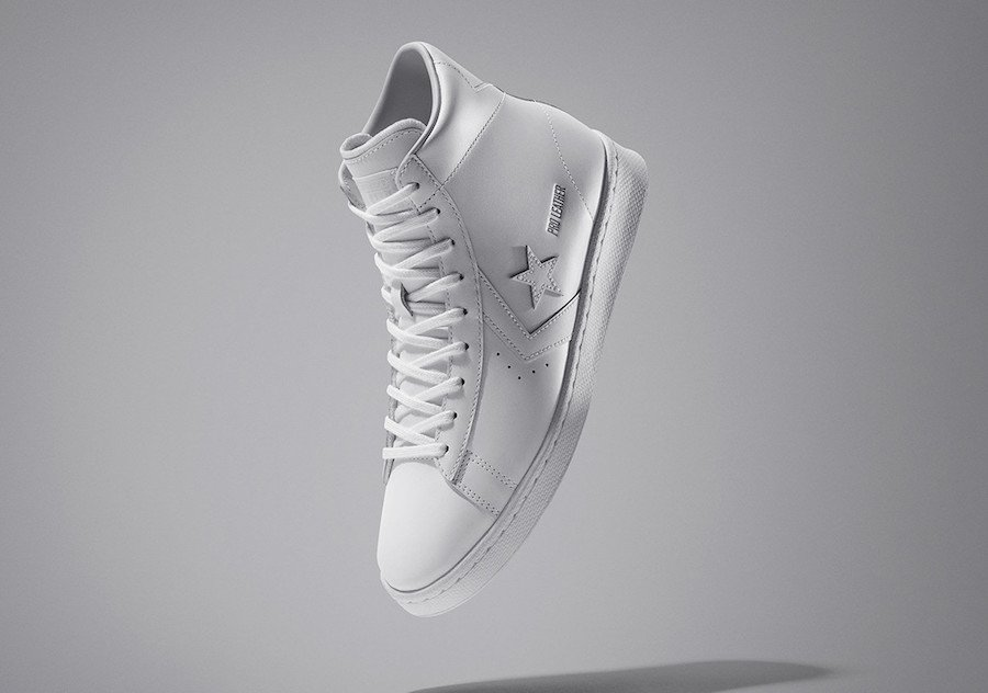 Converse Pro Leather White All-Star Release Date Info