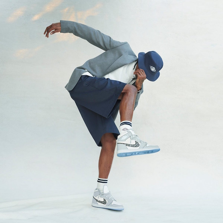 Dior Air Jordan 1 High Air Dior Collection Release Date Info